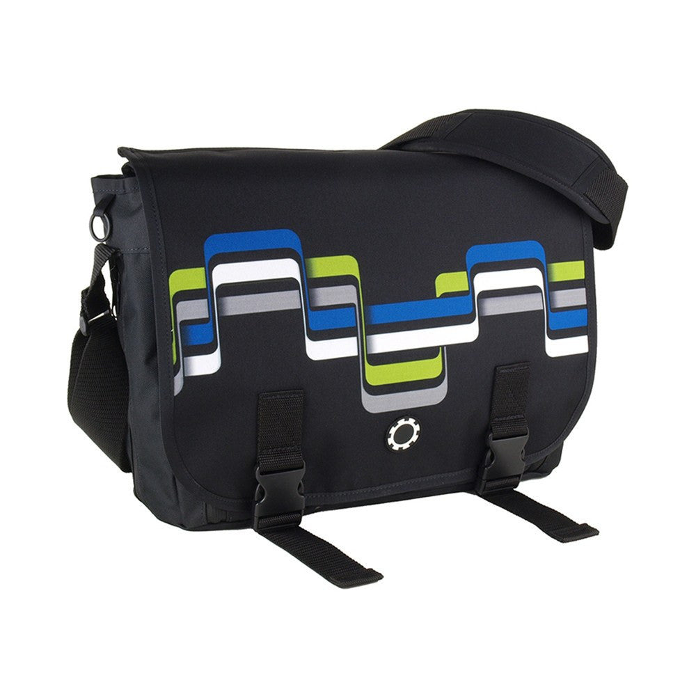 DadGear Messenger Diaper Bag  - Graphics Road Trip