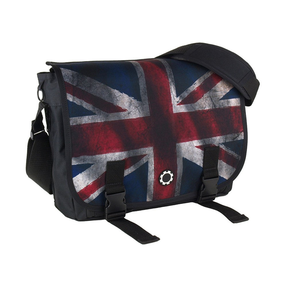 DadGear Messenger Diaper Bag  - Graphics Union Jack