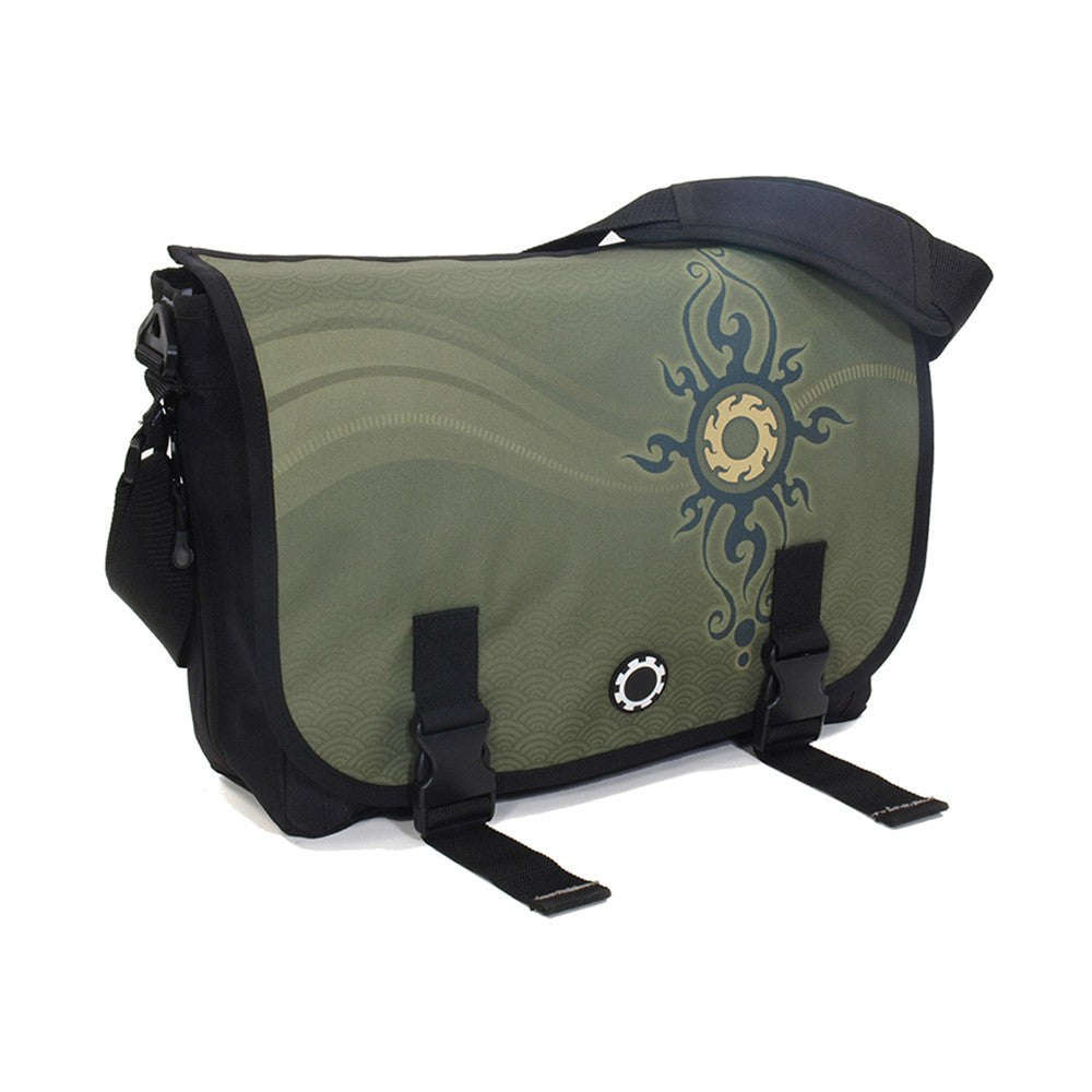 DadGear Messenger Diaper Bag  - Graphics Zen Sun