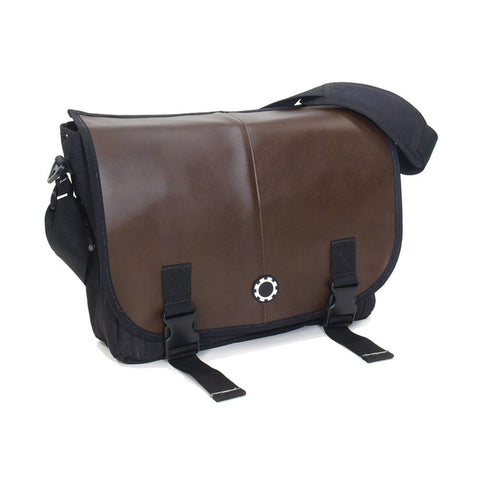 Messenger Diaper Bag  - Retro Stripe