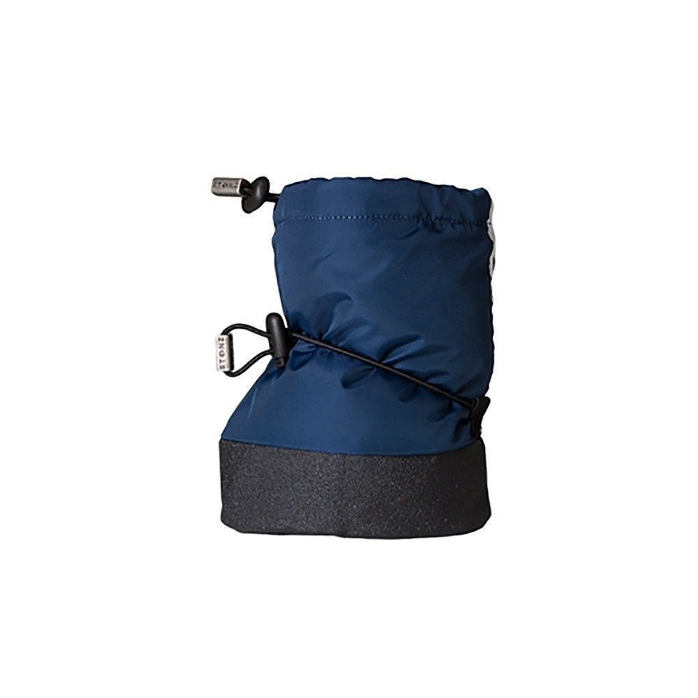 Stonz Infant Cinch Tie Booties – Navy Sheep Small - DadGear