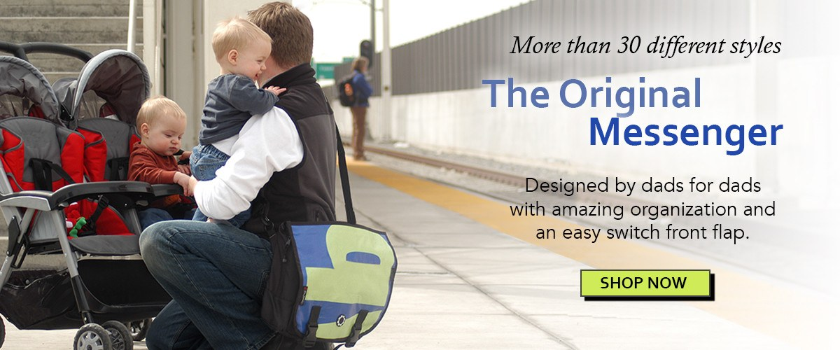 DadGear Messenger Style Diaper Bags