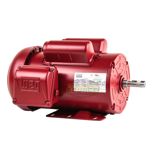 1.5 HP Farm Duty Electric Motor 56H Frame 1745RPM Single Phase TEFC WEG 115/230V