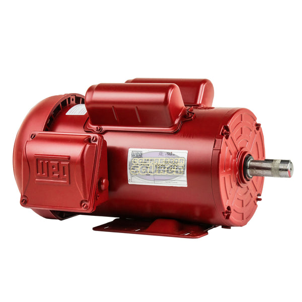 2 HP Electric Motor 145T Frame 1745 RPM Single Phase Farm Duty TEFC 115/230 Volt