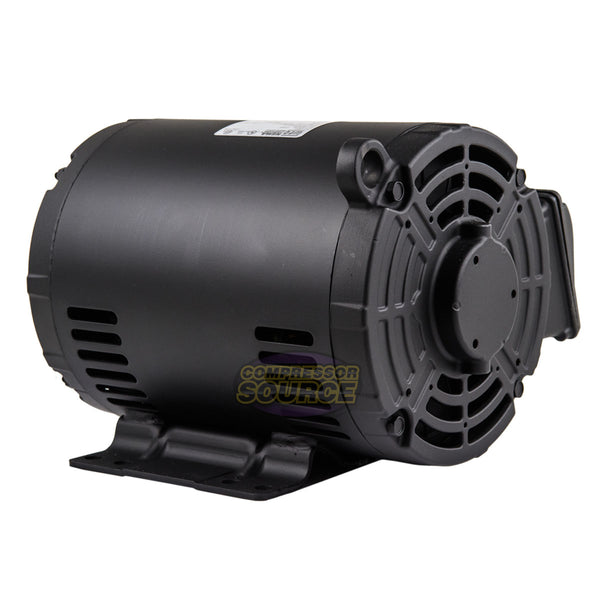 5 HP 3 Phase Air Compressor Duty Electric Motor 182/4T Frame 3510 RPM 3Ph WEG