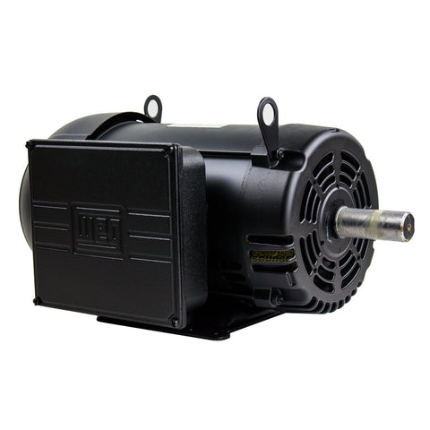 10 HP Air Compressor Duty Electric Motor 215T Frame 1720 RPM Single Phase WEG