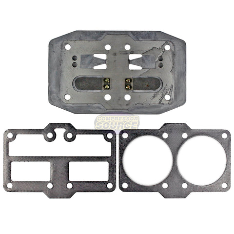 Industrial Air Compressor ILA3606056 or 755H Valve Plate & Gasket Kit 043-0180
