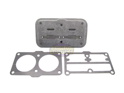 New Quincy QTS-3 Or QTS-5 Valve Plate & Gaskets Head Rebuild Kit