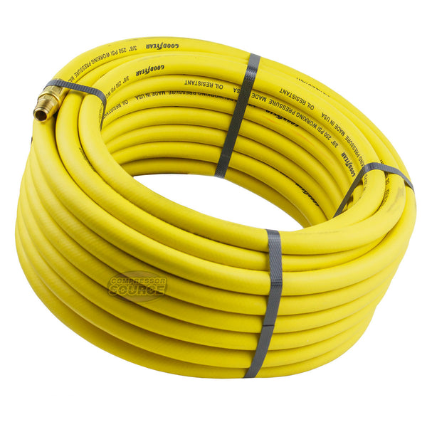 "Goodyear Rubber Air Hose 50' ft. x 3/8"" in. 250 PSI Air Compressor Hose 12672"