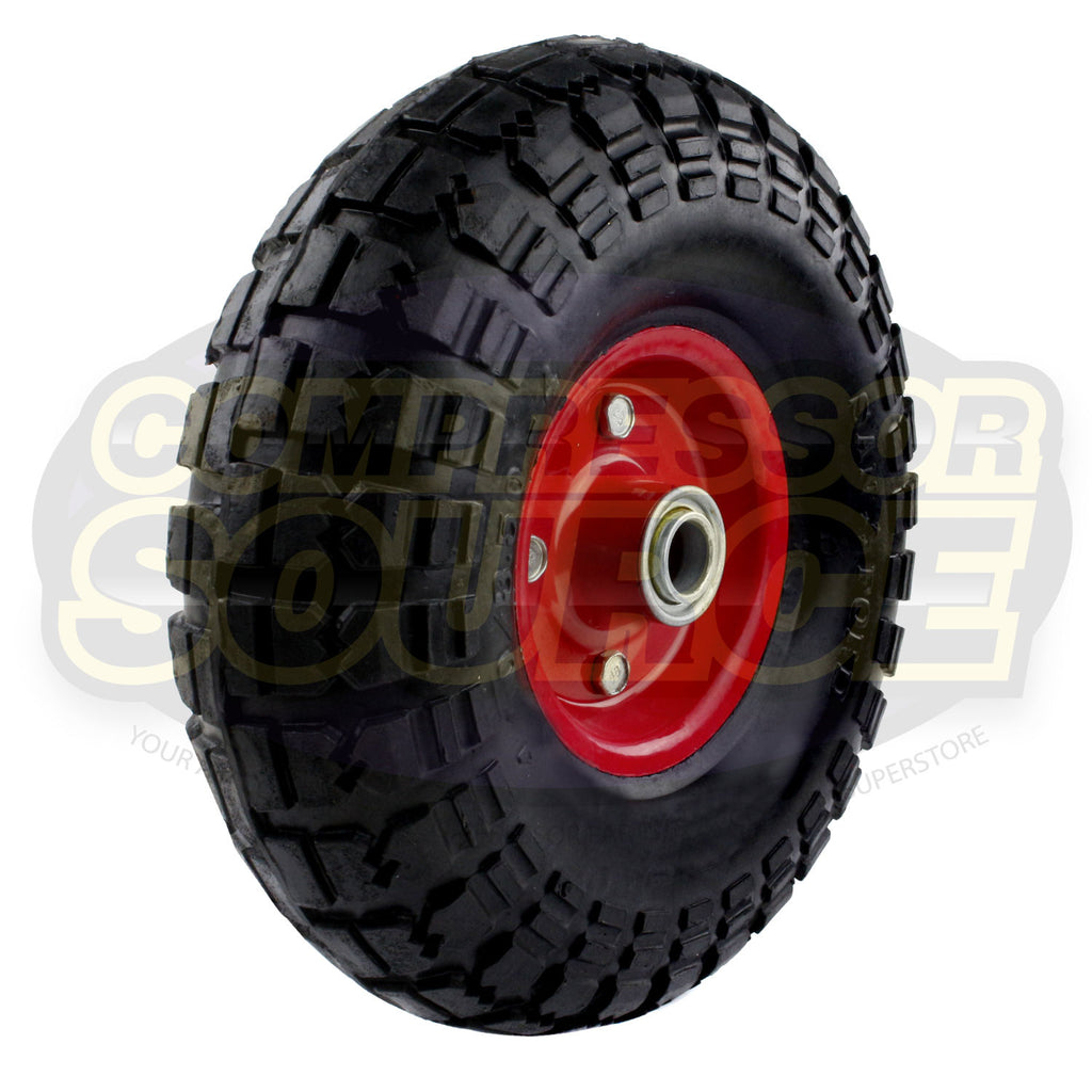 New 2402038 Puma Air Compressor Replacement Wheel & Tire Assembly Solid Rubber