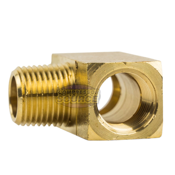 "Male Branch Tee 1/2"" Male NPT x 1/2"" Female NPT Brass Union Tee Pipe Connector"
