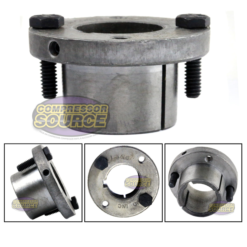 "1-3/16"" Bore H style Steel Sheave / Pulley Bushing Split Taper For Keyed Shaft"
