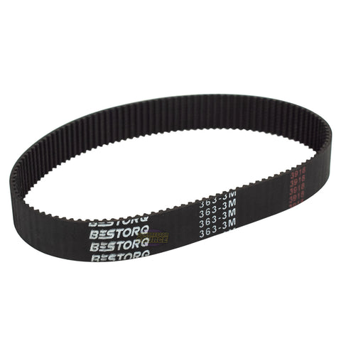 HTD Timing Belt 3mm Pitch 363mm Long 16.5mm Wide Closed Loop Synchronous Belt