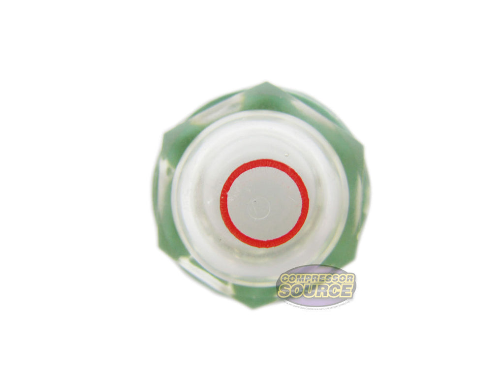 Compatible with Rolair Air Compressor Oil Sight Glass /& Gasket 36500140CH OEM Replacement New