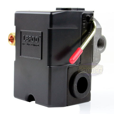 Four Port 95-125 PSI Air Compressor Pressure Switch