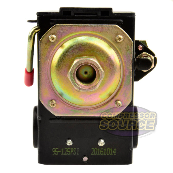 Single Port 95-125 PSI Air Compressor Pressure Switch