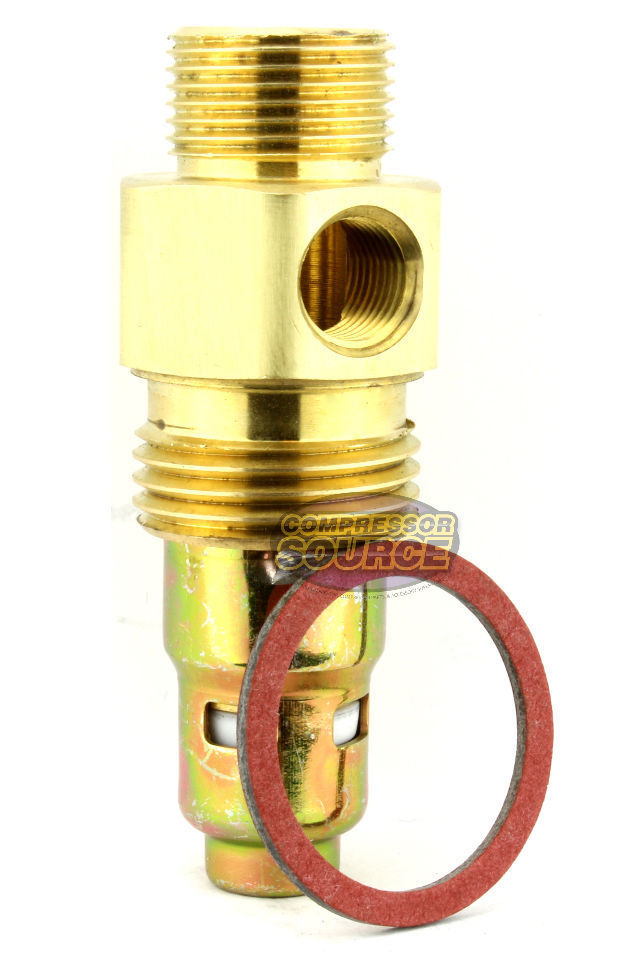 "In Tank Brass Check Valve 7/8"" Male Straight Thread x 1/2"" Compression"