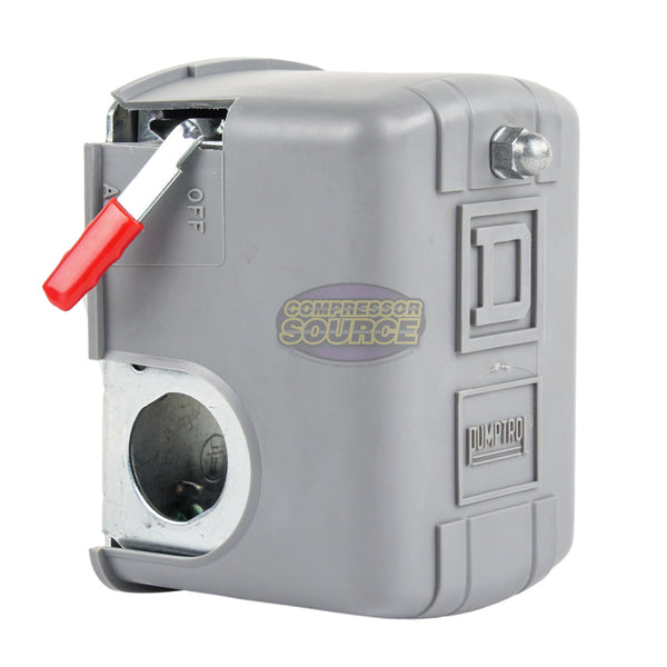 SQUARE D Single Port 135-175 PSI Air Compressor Pressure Switch 9013FHG42J59M1X