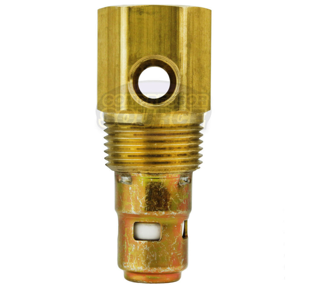 "Ingersoll Rand Replacement 1/2"" Female NPT x 3/4"" Brass Air Compressor Check Valve 97162812"