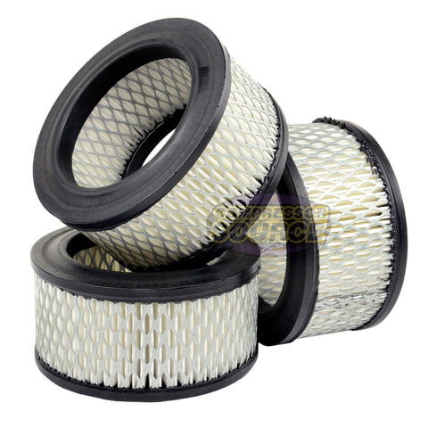 A424 3 Pack Air Intake Filter for Campbell Hausfield STO73903AV Curtis VA1118, VA1163 Ingersol Rand 32171979, 32282196