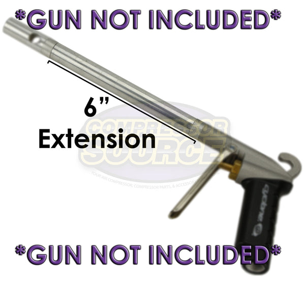 "6"" Extension AG1006 for Extreme High Flow Cyclone Blow Gun Extender New Legacy"
