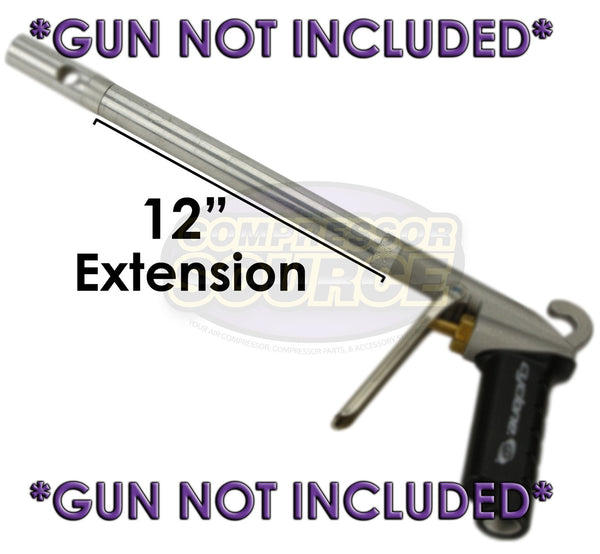 "12"" Extension AG1012 for Extreme High Flow Cyclone Blow Gun Extender New Legacy"