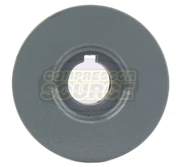 "2.25"" Cast Iron Single Groove Pulley A Belt (4L) Style 5/8"" Shaft"