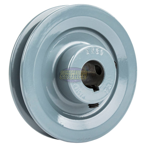 "3.75"" Cast Iron Single Groove Pulley A Belt (4L) Style 3/4"" Shaft"