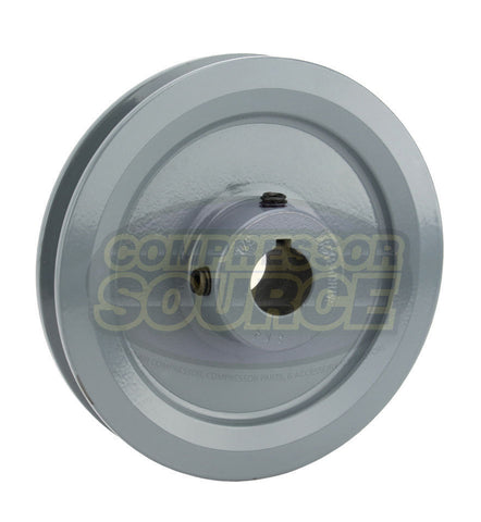 "4.75"" Cast Iron Single Groove Pulley A Belt (4L) Style 3/4"" Shaft"