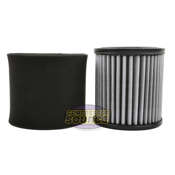 AP429 Air Compressor Polyester Intake Filter Element with Pre-Filter