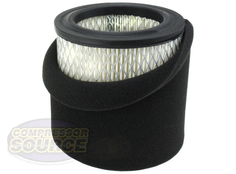 AP428 Air Compressor Paper Intake Filter Element with Pre-Filter ST0739-07 Campbell Hausfeld