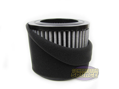 AP431 Air Compressor Polyester Intake Filter Element with Pre-Filter