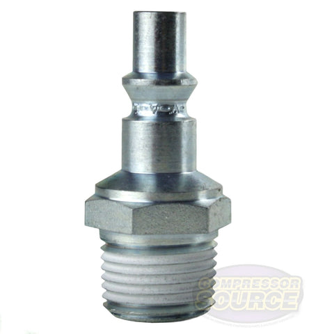 "Prevost 3/8""Male NPT ARO Interchange High Quality Steel Coupler Plug ARP 066252"