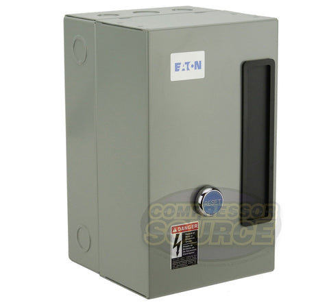 Eaton 10 Horsepower Single 1 Phase 230V Magnetic Starter B27CGF45B057 Motor Control