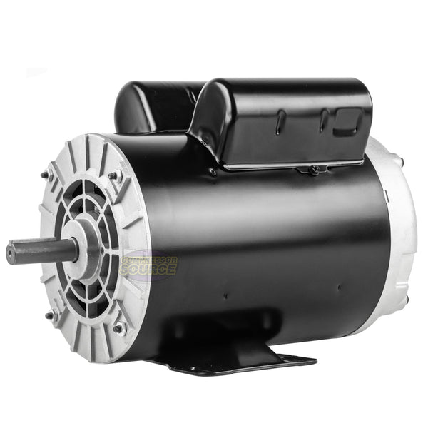 Century 5 HP SPL Single Phase Electric Compressor Motor Rigid Base 230V 3450 RPM