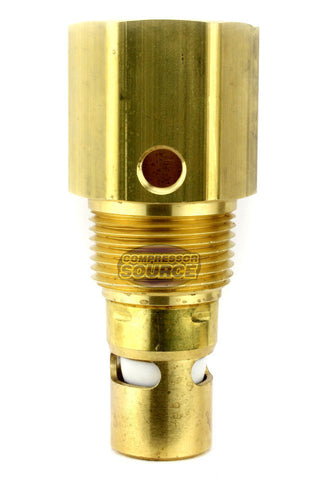 "In Tank Brass Check Valve 1"" Female NPT x 1"" Male NPT"