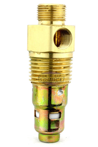 "In Tank Brass Check Valve 1/2"" Male x 3/8"" Compression"