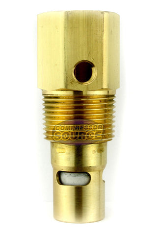 "In Tank Brass Check Valve 3/4"" Female NPT x 1"" Male NPT"