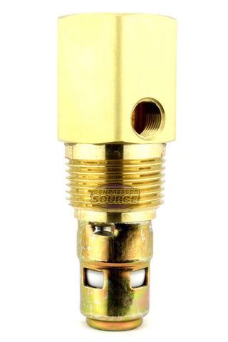 "In Tank Brass Check Valve 3/4"" Male NPT x 3/4"" Female NPT"