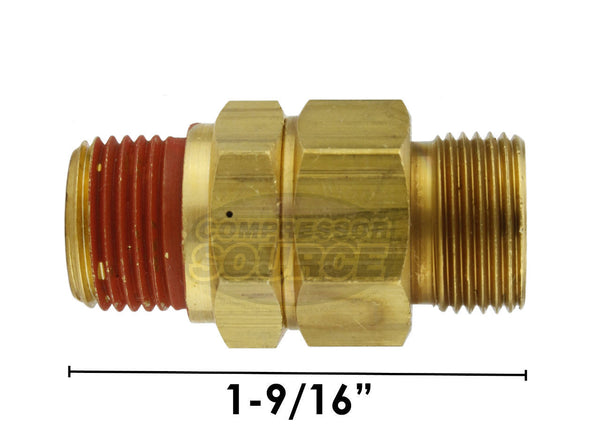 "CA-6 Load Genie 1/4"" x 3/8"" Self Unloading Check Valve"