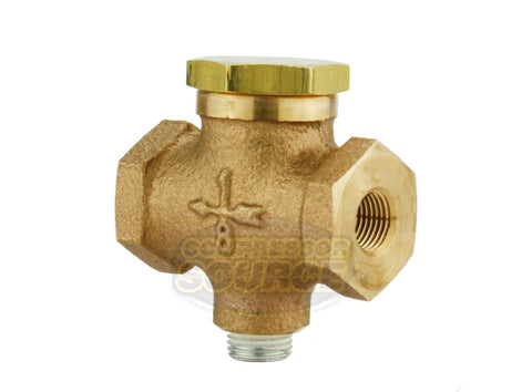 "1/8"" Female Solid Brass Air Compressor In Line Check Valve"