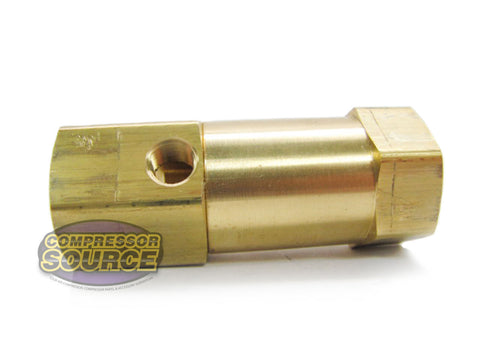 "In-Line Brass Check Valve 3/4"" Female NPT x 3/4"" Female NPT"