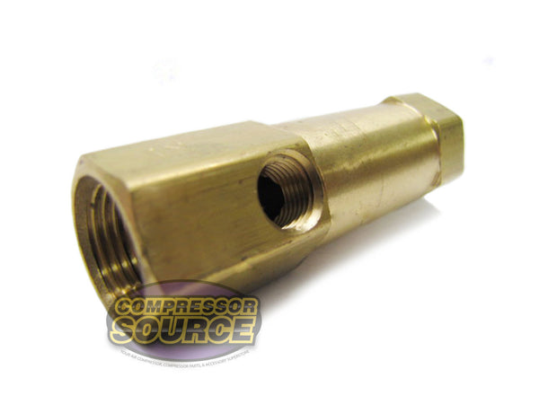"In-Line Brass Check Valve 3/8"" Female NPT x 3/8"" Female NPT"