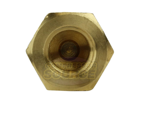 "1/8"" Male To Female NPT Solid Brass Check Valve 500 PSI"