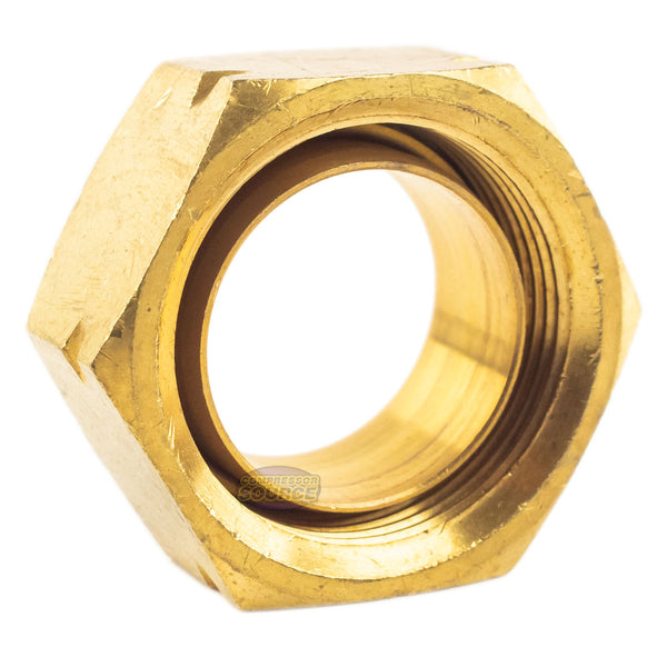 "2 Pack 3/4"" Compression Nut & Ferrule Combo for 3/4"" OD Tube Brass Sleeve Nut"