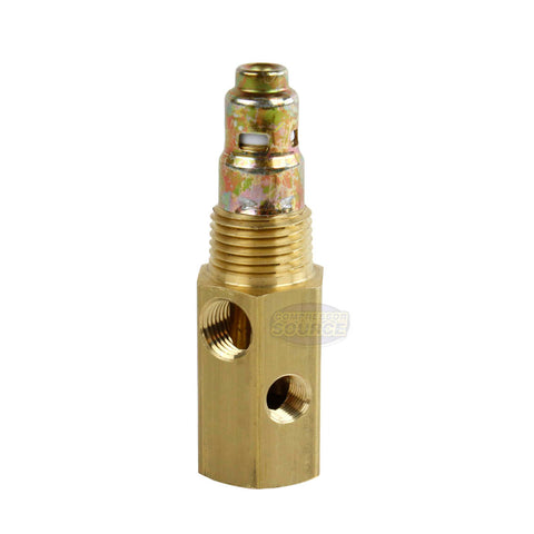 "Jair Air Compressor Check Valve 1/2"" x 1/2"" Brass In Tank W/ Multi Ports 112208"