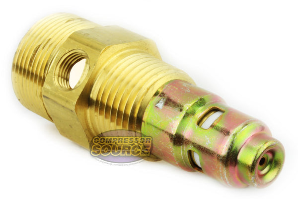 "In Tank Brass Air Compressor Check Valve 1/2"" Male NPT x 3/4"" Compression"