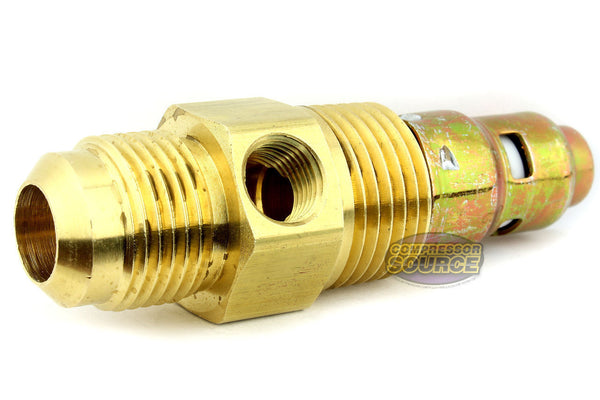 "In Tank Brass Check Valve 1/2"" Male x 1/2"" Flare"
