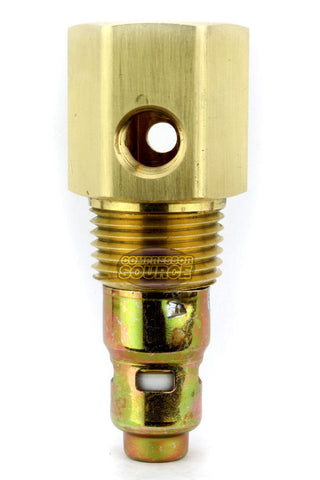 "In Tank Brass Ingersoll Rand Replacement Check Valve 1/2"" Male NPT x 1/2"" Female Inverted Flare"
