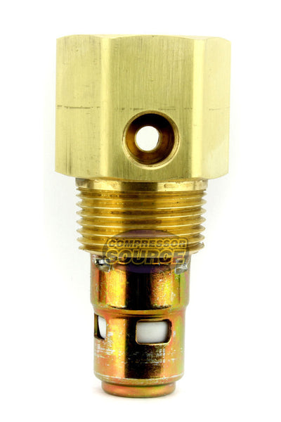 "In Tank Brass Ingersoll Rand Replacement Check Valve 3/4"" Male NPT x 3/4"" Female Inverted Flare"